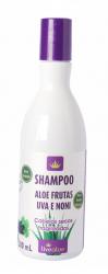 Shampoo sem Sulfatos Orgânico, Vegano e Natural - Aloe Frutas, Live Aloe