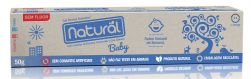 Gel Dental Natural Baby com Extratos de Banana, Camomila e Erva Cidreira 50g
