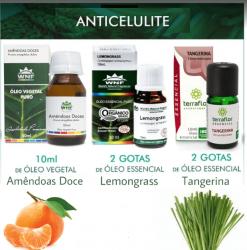 Kit Anti-Celulite com Óleo Vegetal e Óleos Essenciais