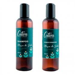 Kit Shampoo e Condicionador Maria da Selva com Mulateiro